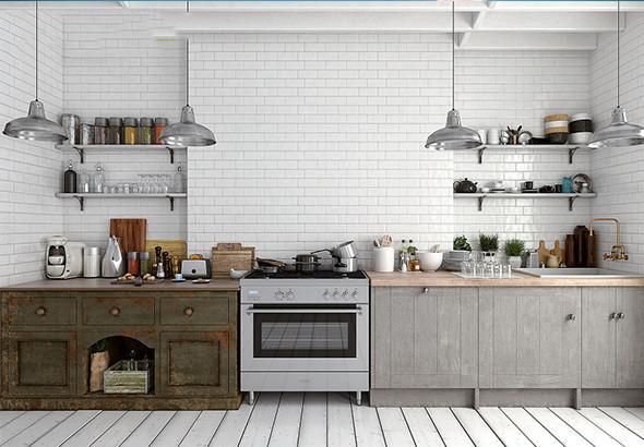 厨房配色tips∣低成本也能改造高颜值厨房