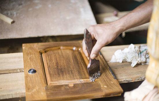 木制品刷木器漆施工流程