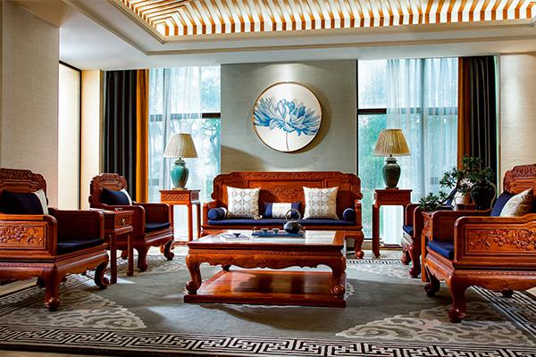 红木好物100 | 国寿红木大师系列《广府壹号沙发》:岭南印象的现代语境