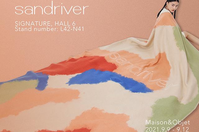 日出草原:中國藝術羊絨Sandriver再度現身巴黎展Maison&Objet