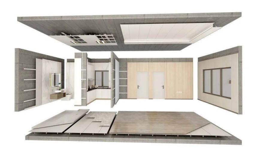 家居建材頭部企業入局裝配式裝修,部品部件企業迎來發展機遇?