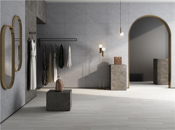 強牌瓷磚 | 400×800mm親膚釉/應用生物仿生技術打造【極致觸感】