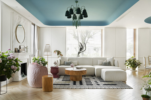 新作丨Nothing Studio:如海島般溫柔的280m2,這才是理想住宅的模樣