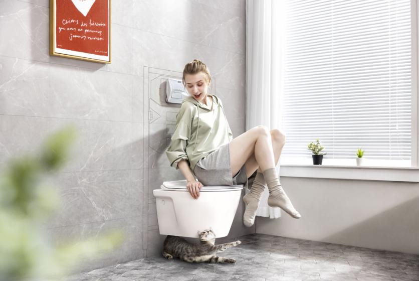 """美标挂厕系列新品上市 内外兼修共同演绎""""隐身美学"""""""