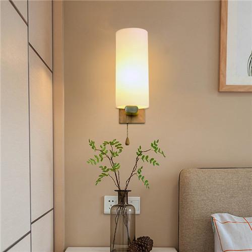 床头灯壁灯一般高度是多少 床头灯壁灯的安装方法图片