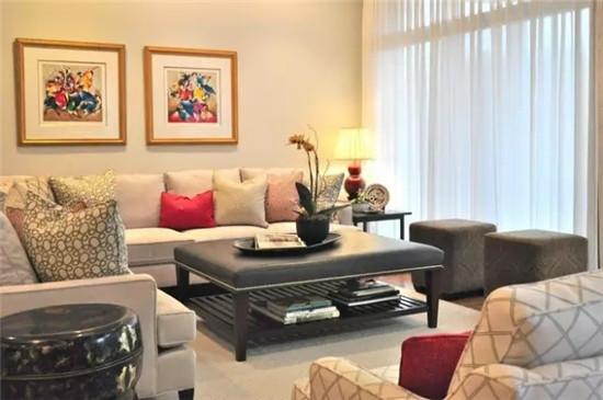 玩转色彩 沙发与窗帘色系的绝妙搭配