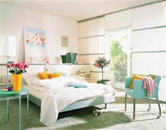 你会爱上简约舒适的卧室设计