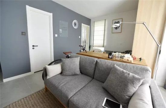 29平大开间一居室,北欧风的迷你单身公寓!图片
