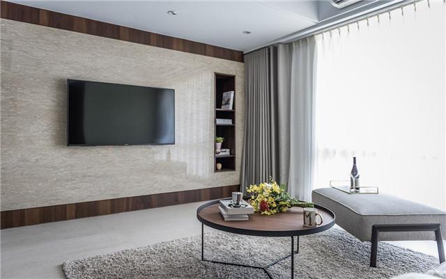 2018电视背墙效果图-色彩妆点感性温度 高质感品味生活