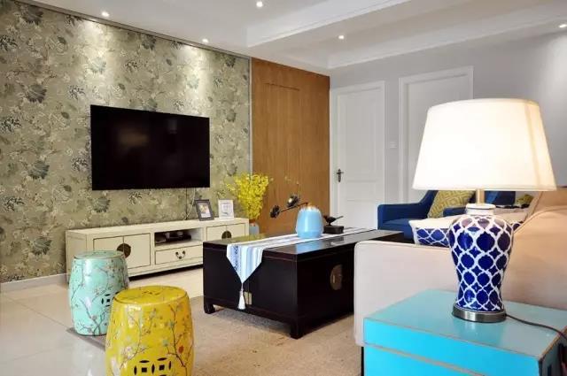 新中式禅意的家居搭配,呈现出一个优雅清新的空间氛围图片