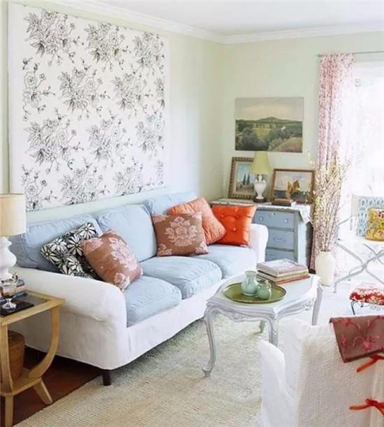 全新沙发墙配色方案来了