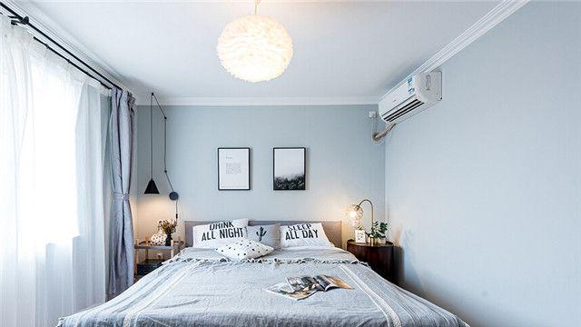 70平米的房子属于小户型,在这套北欧风格装修案例中,业主为了让小户型图片