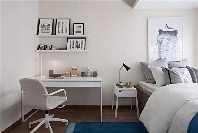 素简韵味三房 纯粹的北欧风格图片