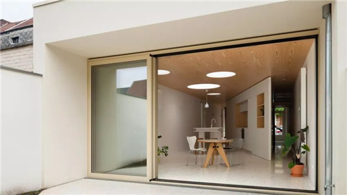 绵阳90平米房屋如何设计 三角型小排屋案例分享