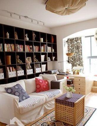 绵阳书架设计案例分享 书架空间改造