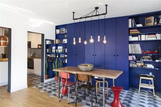 选用大面色块家具 竟然收到意想不到的效果
