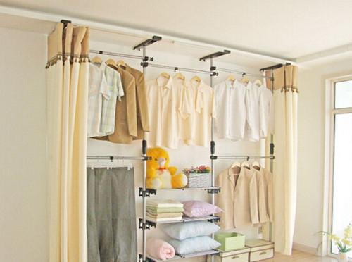 简易衣柜安装方法及选购技巧