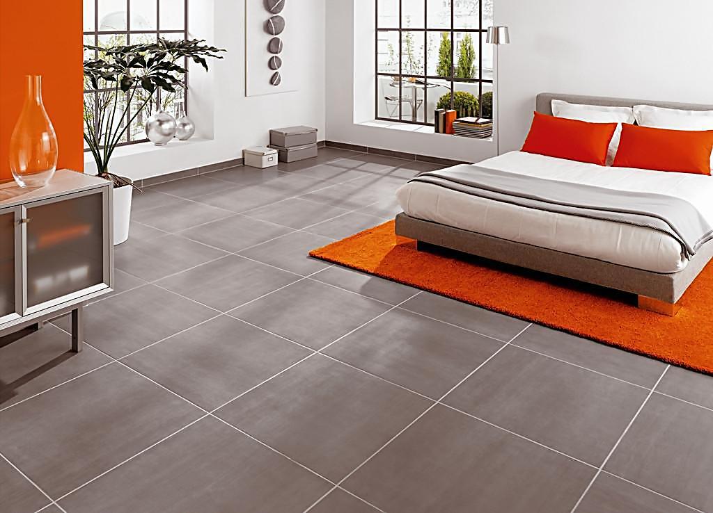 卧室地板瓷砖的搭配