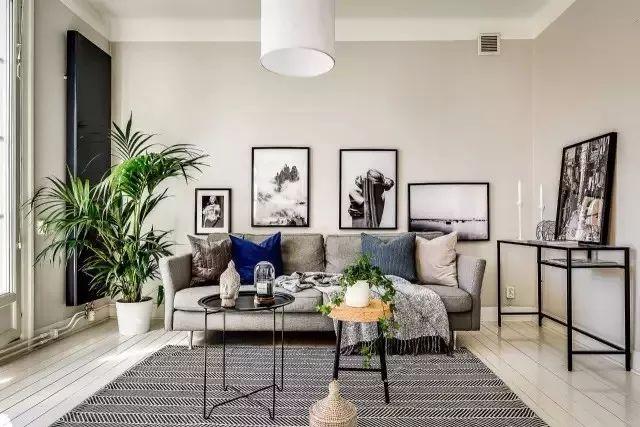 现代时尚风格 这个一居室设计得太妙了!