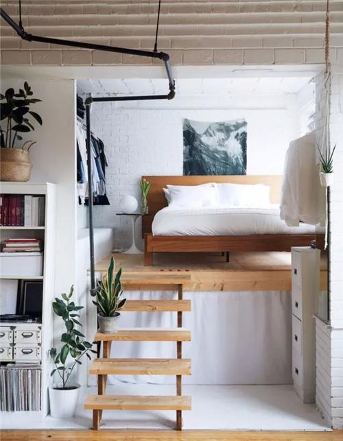 卧室小,如何增加收纳空间