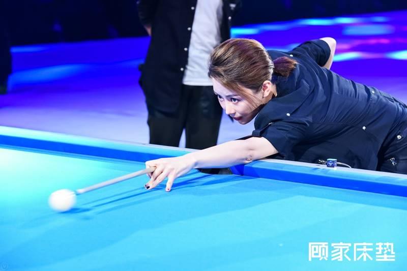 在台球界,潘晓婷早已久负盛名.