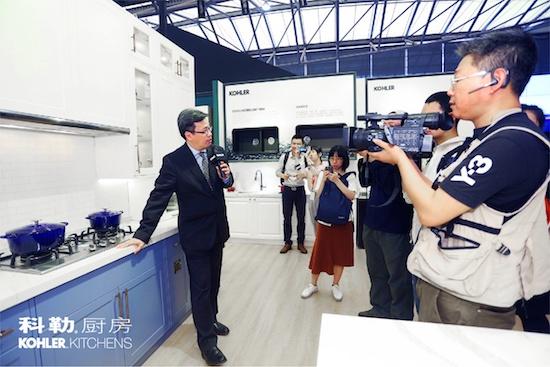 科勒厨房传承优雅用创新产品渗透生活——2018年上海国际厨卫展,科勒厨房携新品来袭