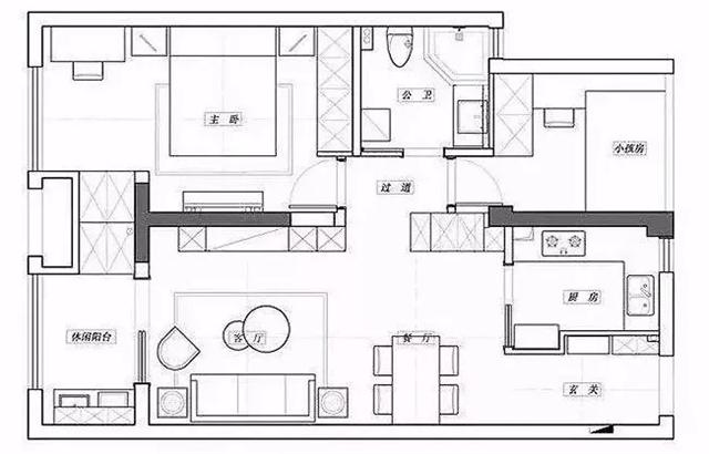 简约灰色调的年轻住宅