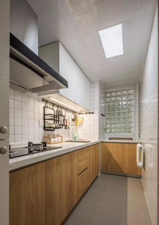遇上这样的厨房,做饭的心情也变得欢愉起来