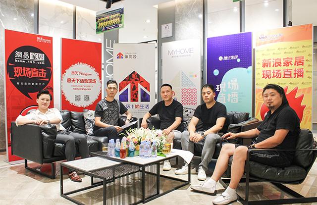 (从左到右:陈小林,鞠文彬,石春华,蒋国晟,九天)图片