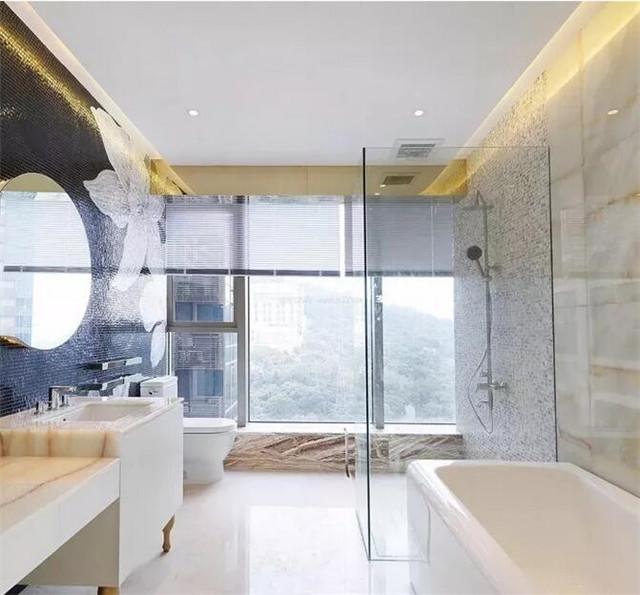 淋浴区是一个非常容易滑倒的地方,怎么做到防滑?