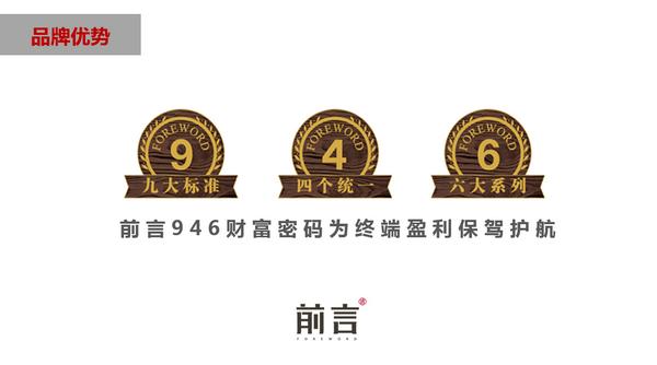 """中信红木""""前言""""964财富密码为终端盈利保障"""