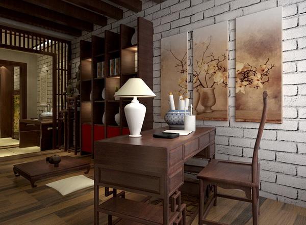 在家居环境中,简洁、开放式的工作环境能让思维更加开阔