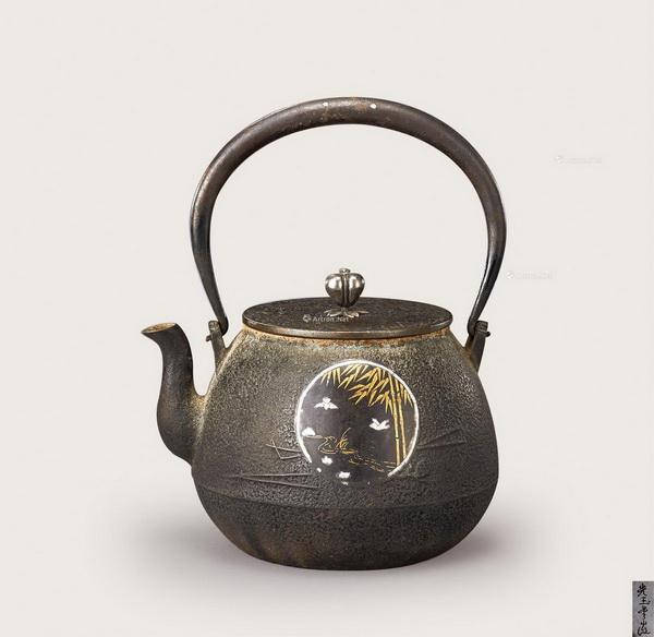 光玉堂 金银镶嵌铁壶