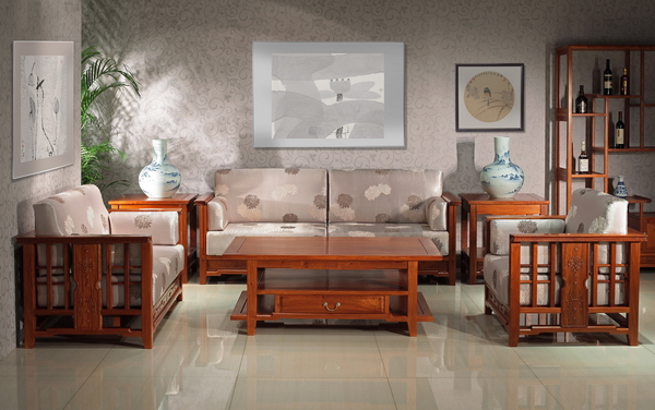 东成红木《缅甸花梨致和沙发》