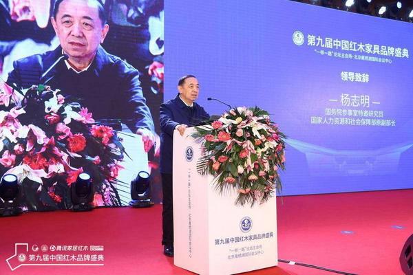 国务院参事室特邀研究员、国家人力资源与社会保障部原副部长杨志明致辞