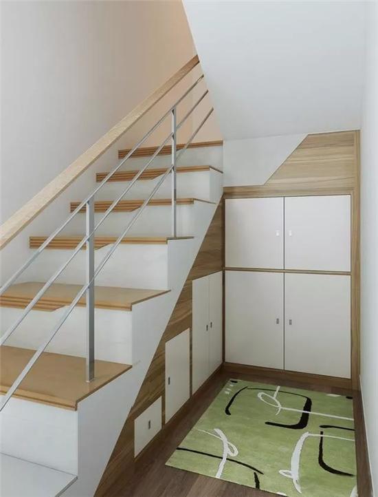 楼梯空间赶紧利用起来,应该怎样设计呢?