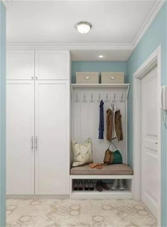 又该如何增加玄关? 以下5套方案,小户型鞋柜设计轻松get!图片