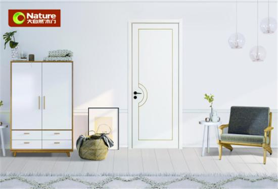 大自然木门:择一扇水性漆木门,守护她的岁月静好490.jpg