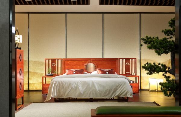 世外桃源·新明式红木家具,给人以家的安稳与惬意(明轩卧房系列)