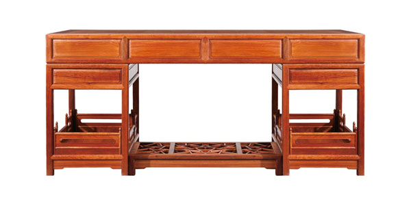 东成红木《明式经典书房系列》-书台