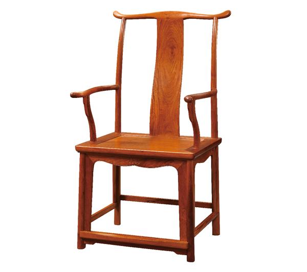 东成红木《明式经典书房系列》-四出头官帽椅