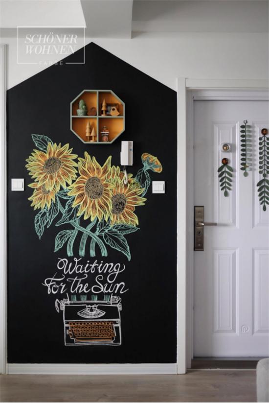 用舒纳黑板漆记录生活,让墙面更富有生命168.jpg