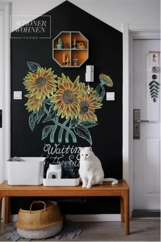 用舒纳黑板漆记录生活,让墙面更富有生命1337.jpg