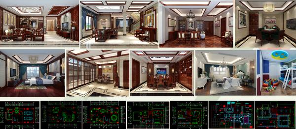 御乾堂红木从最初的个性化私人定制,已经发展出别墅、家庭、会所、酒店等的中式整装定制