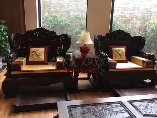 中式会客空间延续了国人一脉相传的待客传统