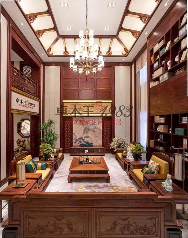 卓木王中式精致生活大家居,用精选良才、精心设计和精致工艺,打造出精致的中式沙发系列