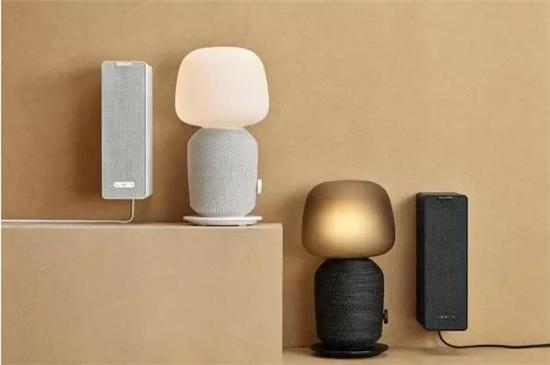 宜家首款智能音箱8月发售,能嵌入台灯和书柜!