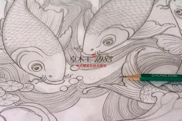 ▲  卓木王设计师手绘图稿