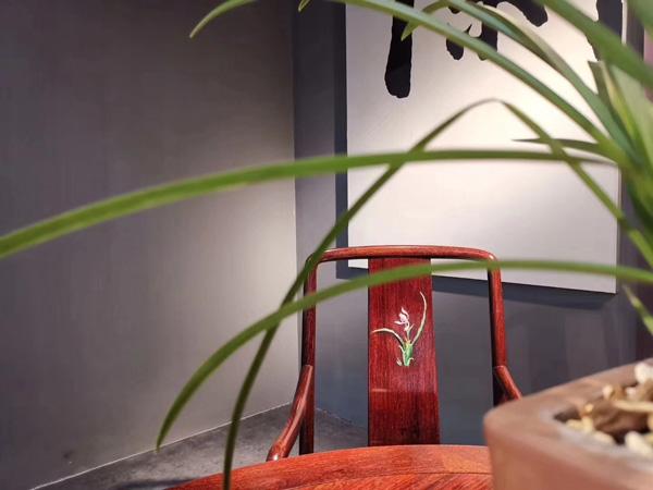 泰和園當代君子《蘭花椅》