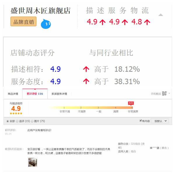 盛世周木匠天猫旗舰店广获好评.jpg